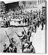 Textile Strike, 1934 Canvas Print