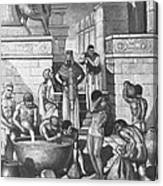 The Art Of Brewing, Babylon Canvas Print
