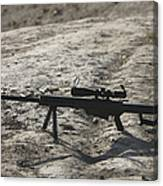 The Barrett M82a1 Sniper Rifle Canvas Print