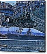 The Carriers Canvas Print