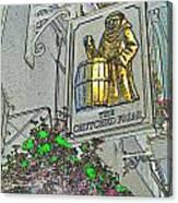 The Crutched Friar Public House Canvas Print