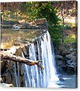The Dam At Cedarock Canvas Print
