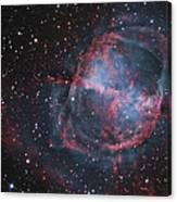 The Dumbbell Nebula Canvas Print