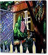 The Grant House Canvas Print