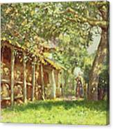 The Gypsy Camp Canvas Print