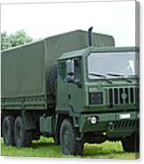 The Iveco M250 8 Ton Truck Canvas Print