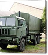 The Iveco M250 8 Ton Truck Used Canvas Print