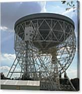 The Lovell Telescope At Jodrell Bank Canvas Print