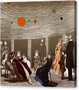 The New Planetarium In Paris, 1880 Canvas Print