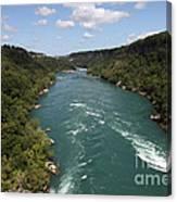 The Niagara River Canvas Print