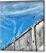 The Prison Walls Canvas Print
