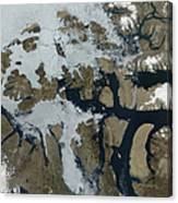The Queen Elizabeth Islands Canvas Print