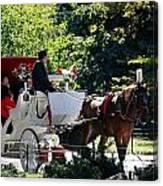The Ride Thru The Park Canvas Print