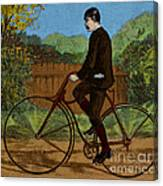 The Rover Bicycle Canvas Print