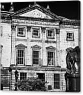 The Royal Bank Of Scotland Edinburgh Scotland Uk United Kingdom Canvas Print
