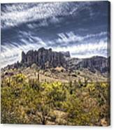 The Superstitions  Canvas Print