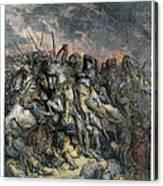Third Crusade, 1191 Canvas Print
