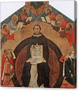 Thomas Aquinas, Italian Philosopher Canvas Print