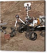 Three Generations Of Mars Rovers Canvas Print