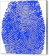 Thumbprint Canvas Print