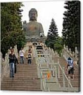 Tian Tan Buddha Canvas Print