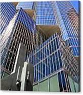 Toronto Financial Core Buildings Canvas Print