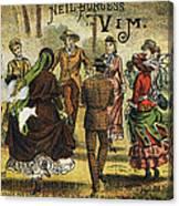 Trade Card, C1880 Canvas Print