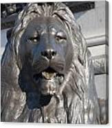 Trafalgar Square Lion Canvas Print