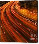 Traffic River Canvas Print