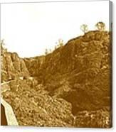 Trail To Bear Hole Canvas Print