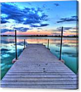 Tranquil Dock Canvas Print