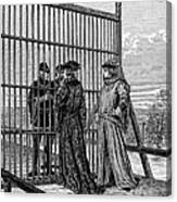 Treaty Of Picquigny Canvas Print