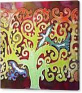 Kazaksha Tree Of Life Canvas Print