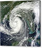 Tropical Storm Isaac Moving Canvas Print