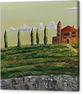 Tuscan Guest House Canvas Print