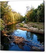 Twisted Creek Canvas Print