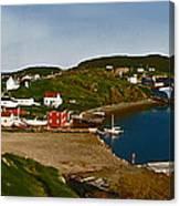 Two Good Arms Newfoundland Canvas Print