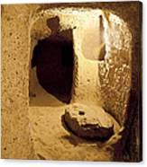 Underground Caves Derinkuyu Canvas Print