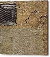 Urban Window Canvas Print