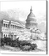 U.s. Capitol Canvas Print