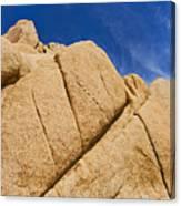 Usa, California, Joshua Tree National Park, Rock Formations Canvas Print