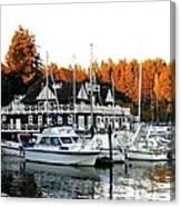 Vancouver Rowing Club Canvas Print