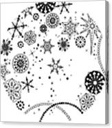 Various Plants Patterns Canvas Print