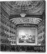 Venice: Teatro La Fenice Canvas Print
