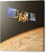 Venus Express Mission, Artwork Canvas Print