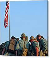 Veterans Remember Canvas Print