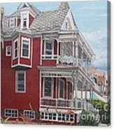 Victorian Afternoon Cape May Canvas Print