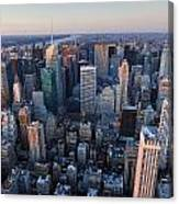 View From Empire State Building Canvas Print