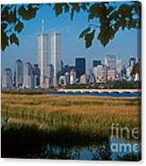 View From Liberty State Park Canvas Print