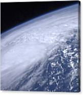 View From Space Of Hurricane Irene Canvas Print